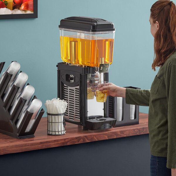Avantco D3G-1 Single 3 Gallon Bowl Refrigerated Beverage Dispenser - 120V Main Image 4