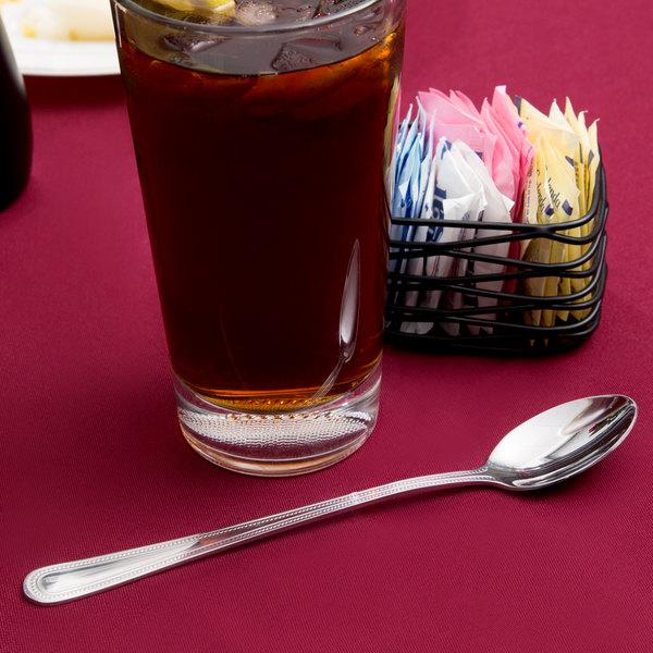 Primrose Flatware Stainless Steel Iced Tea Spoon - 36/Case