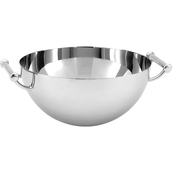 Vollrath 46626 2 Qt. Mirror-Finished Stainless Steel Serving Bowl with Handles
