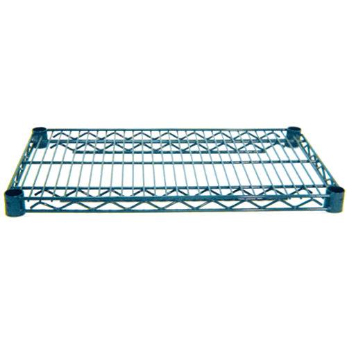 Advance Tabco EG-2442 24 inch x 42 inch NSF Green Epoxy Coated Wire Shelf