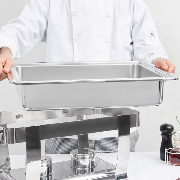 Vollrath 46331 9 Qt. Full-Size Replacement Stainless Steel Water Pan for 46518 Orion Chafer