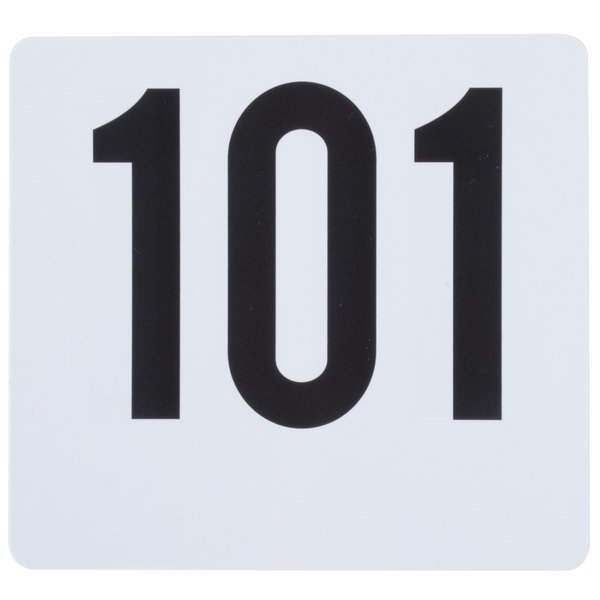 Table Number Card Set - 101 to 150 Main Image 1