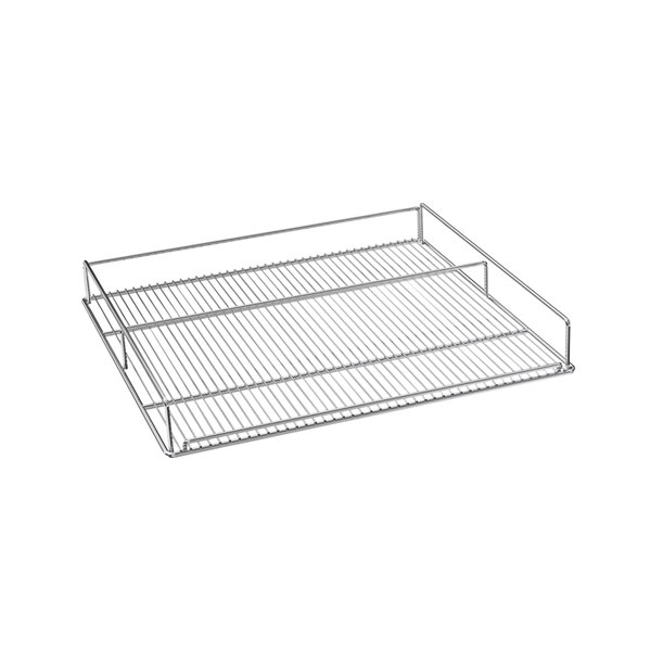 Beverage-Air 412-070D-04 Chrome Flat Wine Rack for MMR44HC-WINE and MMRR72HC-WINE Single Section Main Image 1
