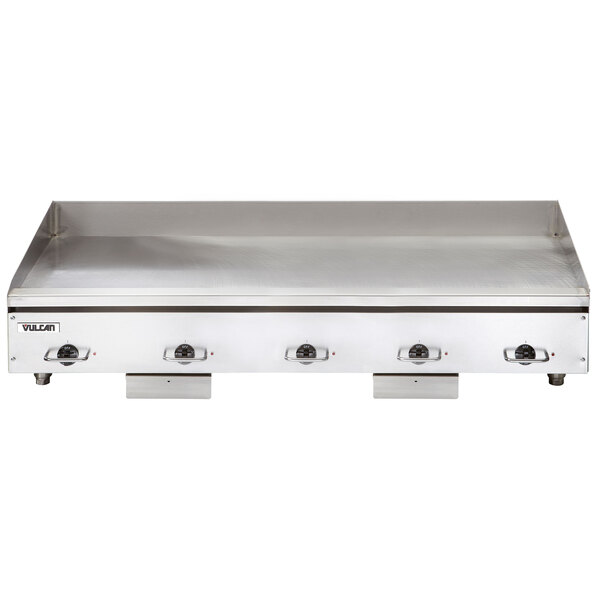 """Vulcan HEG60E-24C 60"""" Electric Chrome Top Restaurant Griddle with Snap-Action Thermostatic Controls - 208V, 1 Phase, 27 kW Main Image 1"""