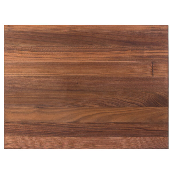 John Boos Co Wal R03 20 X 15 X 1 1 2 Reversible Black Walnut Wood Cutting Board With Hand Grips