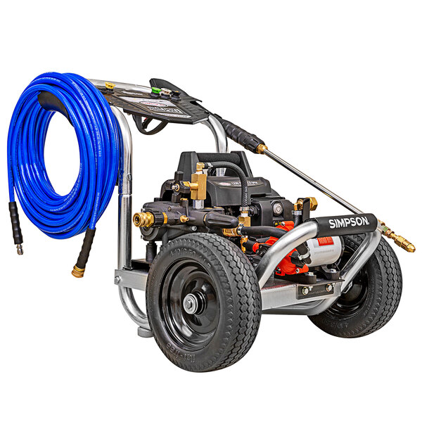 Simpson 61102 Aluminum Sanitizing Mister and Pressure Washer with Induction Engine and 75' Hose - 1200 PSI; 2.0 GPM Main Image 1