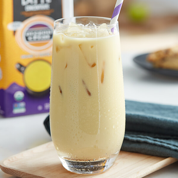 Oregon Chai 32 fl. oz. Organic Turmeric Latte 1:1 Concentrate Main Image 3