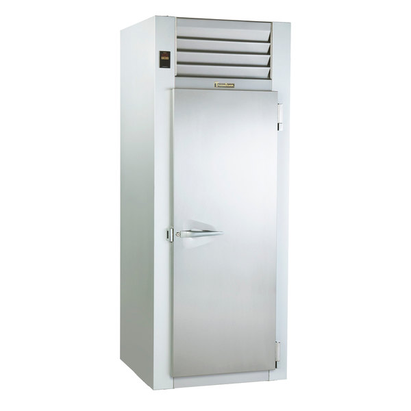 "Traulsen AIH132LP-FHS 38.8 Cu. Ft. Single Section Roll-Thru Heated Holding Cabinet for 66"" Pan Racks - Specification Line"