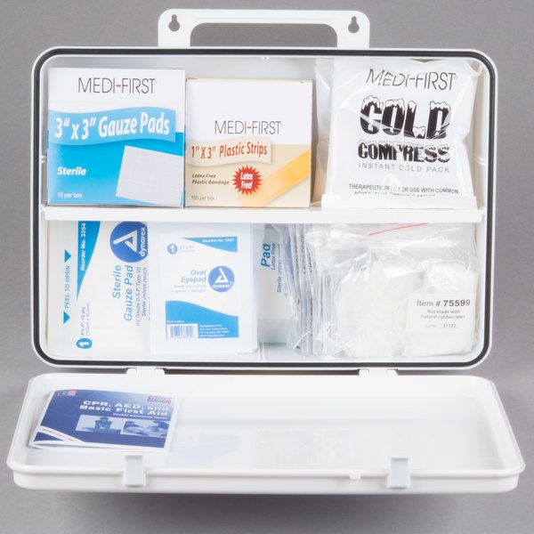 Medi-First 807P50P 50 Person 188 Piece First Aid Kit