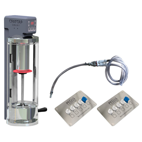 Pegas CrafTap 30008S Smart 8-Keg Connection Automatic Growler Filler Main Image 1