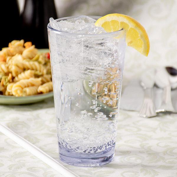 Carlisle 561607 Alibi 16 oz. SAN Plastic Pint / Mixing Glass - 24/Case