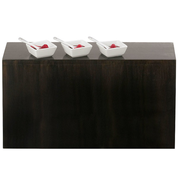"Cal-Mil 166-11-96 Midnight Plate Riser - 20"" x 7"" x 11"" Main Image 1"