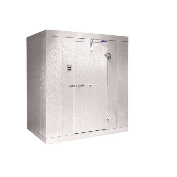 """Rt. Hinged Door Nor-Lake KL74610 Kold Locker 6' x 10' x 7' 4"""" Indoor Walk-In Cooler Box without Floor"""