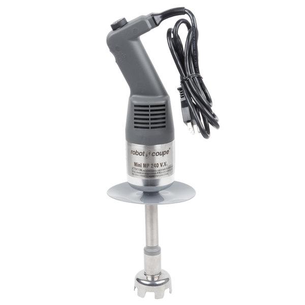 Robot Coupe MMP240VV 9 1/2 inch Mini Variable Speed Immersion Blender - 120V