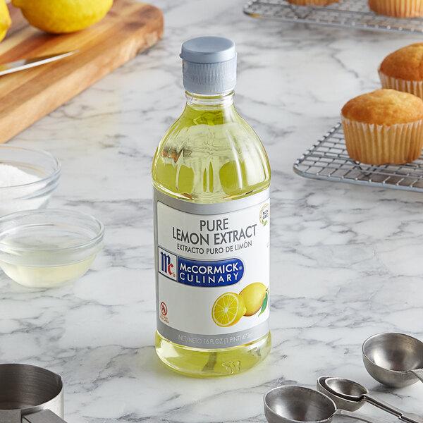 McCormick 16 oz. Pure Lemon Extract Main Image 2
