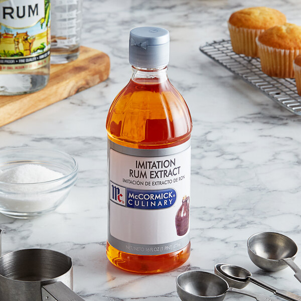 McCormick 16 oz. Imitation Rum Extract Main Image 2