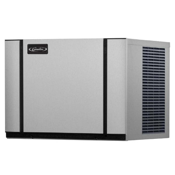 """Cornelius CNM0522AH0A Nordic Elite Series 22"""" Air Cooled Half Size Cube Ice Machine - 561 lb. Main Image 1"""