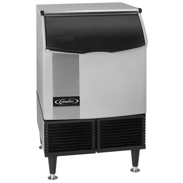 "Cornelius CCU0220AF12 Nordic Series 24"" Air Cooled Undercounter Full Size Cube Ice Machine - 251 lb. Main Image 1"