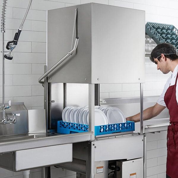 Noble Warewashing HT-180EC Single Cycle High Temperature Dishwasher, 208/230V, 1 Phase Main Image 6
