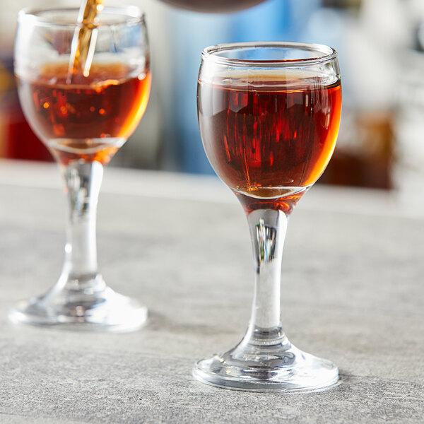 Pasabahce 44134-024 Capri 2 oz. Bistro Cordial Glass - 24/Case Main Image 2