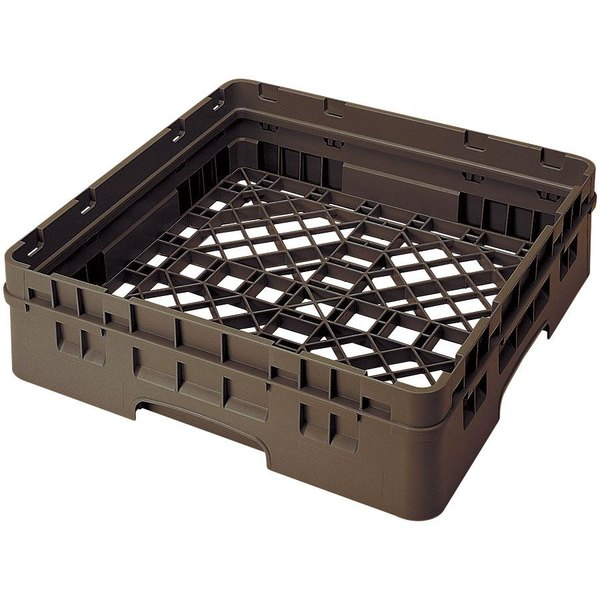 Cambro BR414167 Brown Camrack Full Size Open Base Rack with 1 Extender Main Image 1