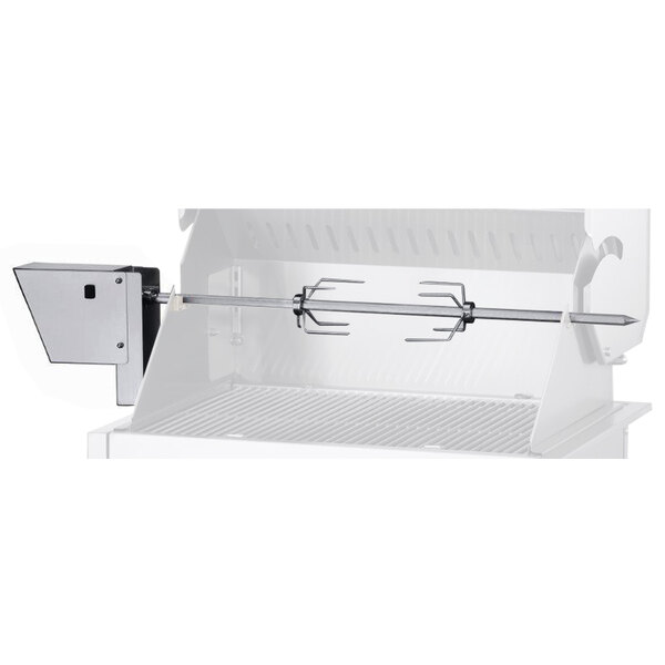 Crown Verity CV-RT-24 Motorized Rotisserie Assembly for Select Crown Verity Outdoor Grills - 120V Main Image 1