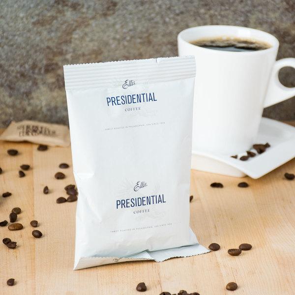 Ellis 2.5 oz. Presidential Regular Coffee Packet - 128/Case