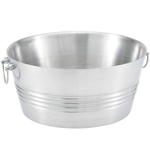 Vollrath 47226 Tabletop Stainless Steel Beverage Bin / Tub