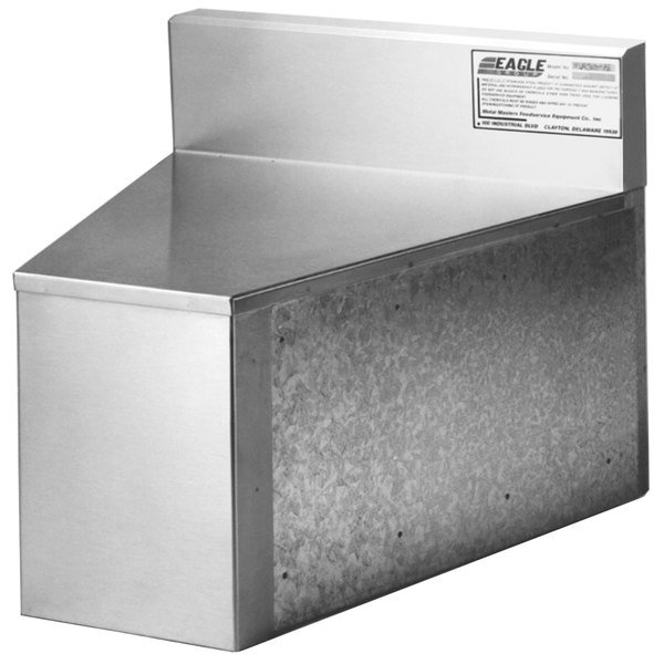 Eagle Group MR30-18 Modular Rear Angle Filler for 1800 Series Underbar Units