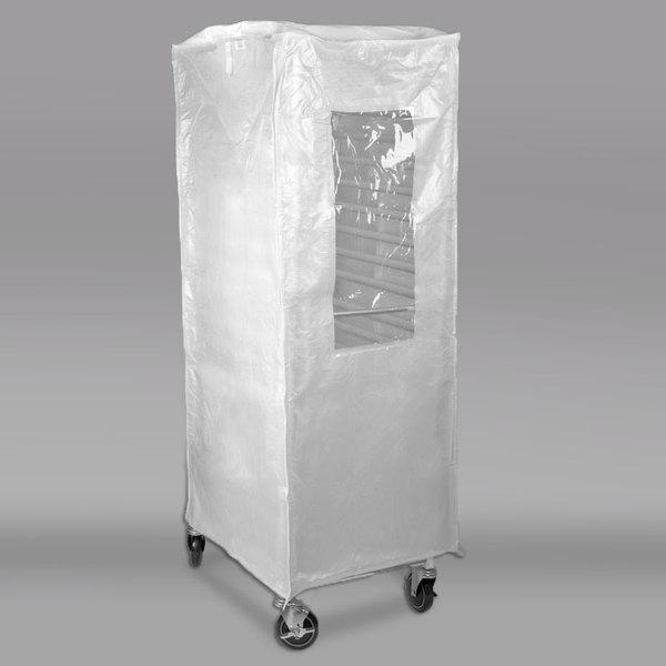 Curtron SUPRO-20-TW Translucent White Bun Pan Rack Cover - 20 Mil