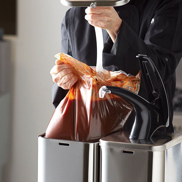 Red Gold 1.5 Gallon Barbecue Sauce Dispenser Pouches - 2/Case Main Image 2