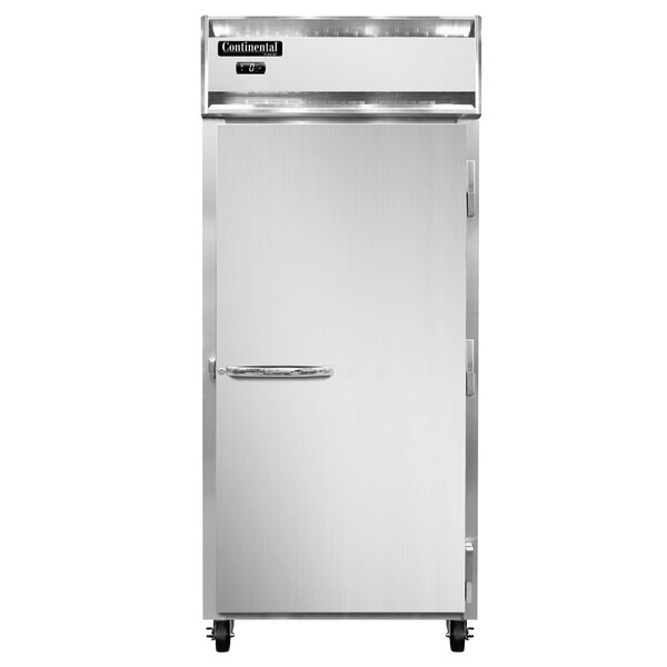 """Continental Refrigerator 1FXN 36 1/4"""" Solid Door Extra Wide Reach-In Freezer - 30 Cu. Ft. Main Image 1"""