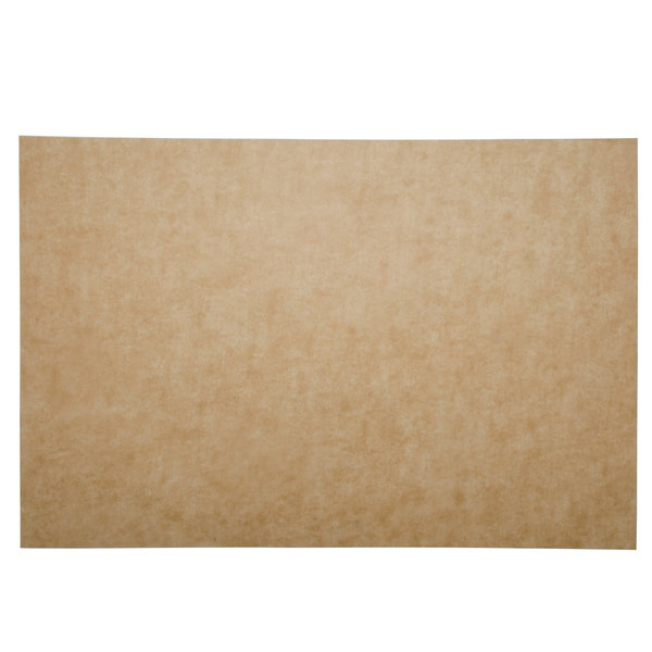 "Bagcraft Papercon 030010 EcoCraft Bake 'N' Reuse 16"" x 24"" Full Size Parchment Paper Pan Liner - 1000/Case"