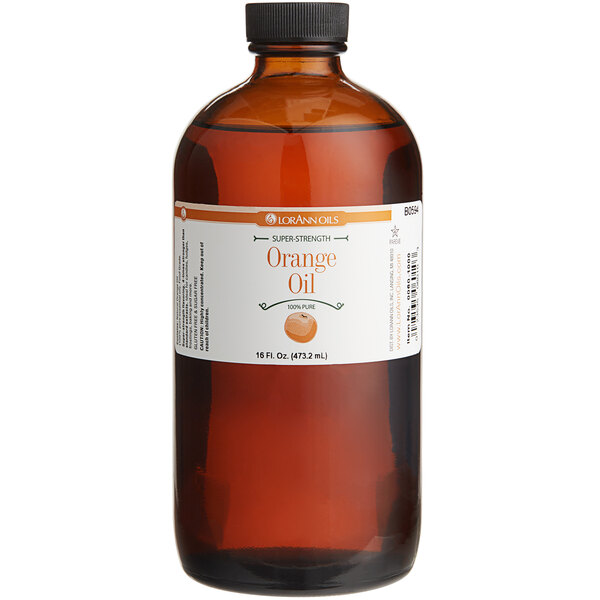 LorAnn Oils 16 oz. All-Natural Orange Super Strength Flavor Main Image 1