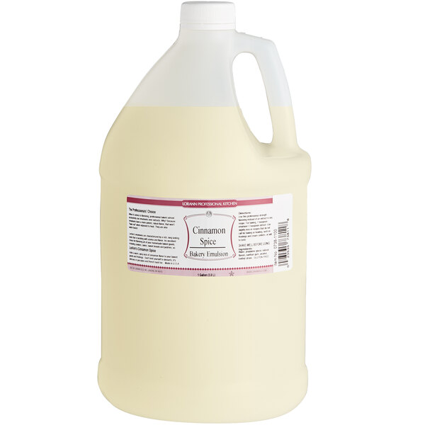 LorAnn Oils 1 Gallon Cinnamon Spice Bakery Emulsion Main Image 1
