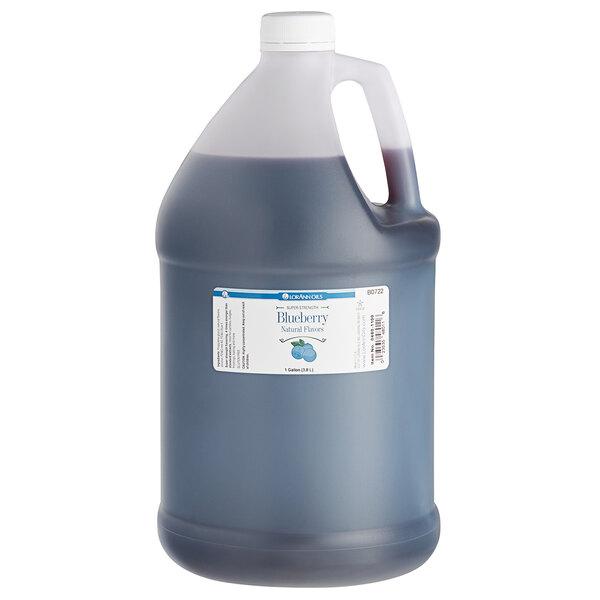 LorAnn Oils 1 Gallon All-Natural Blueberry Super Strength Flavor Main Image 1