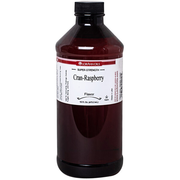 LorAnn Oils 16 oz. Cran-Raspberry Super Strength Flavor Main Image 1