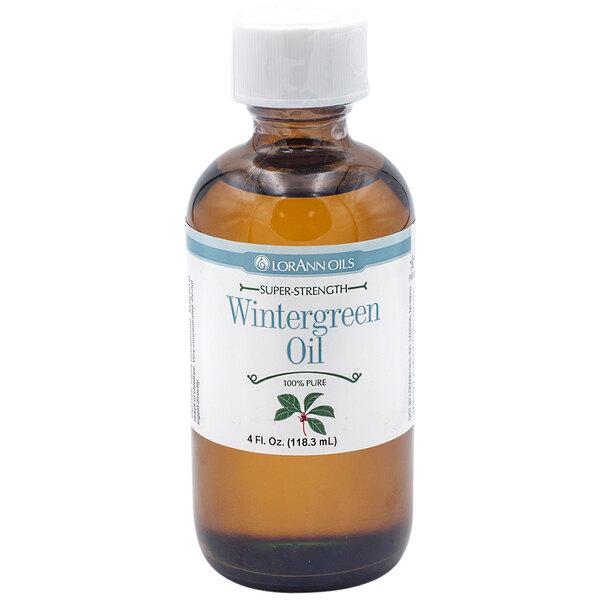 LorAnn Oils 4 oz. All-Natural Wintergreen Super Strength Flavor Main Image 1
