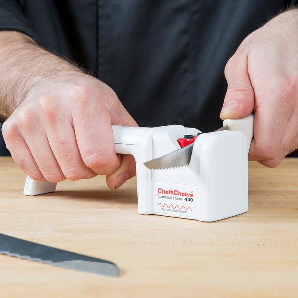 Edgecraft Chef's Choice 430 Manual Serrated Knife Sharpener