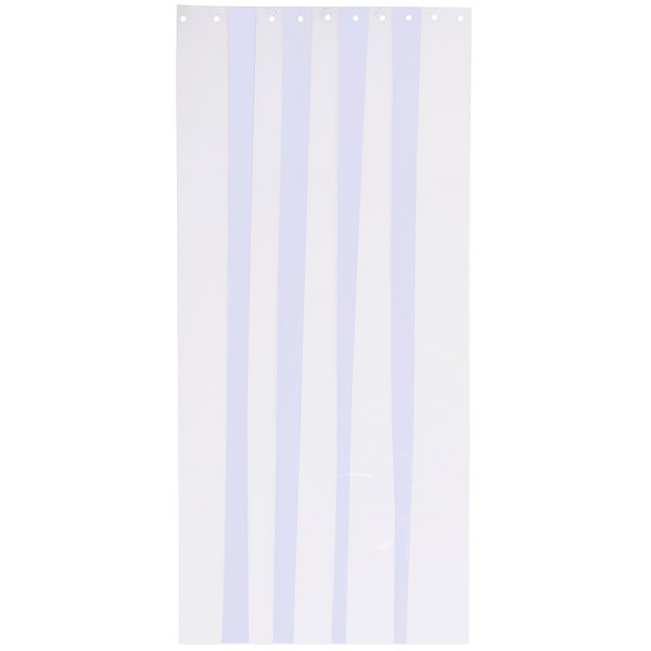 "Curtron CZN-8-S-80-4PK 8"" x 80"" Standard Grade Replacement Door Strips - 4/Pack Main Image 1"