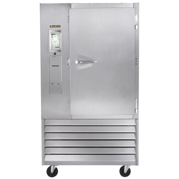 """Traulsen TBC13-28 Spec Line Reach In 13 Pan Blast Chiller - Right Hinged Door with 6"""" Casters"""