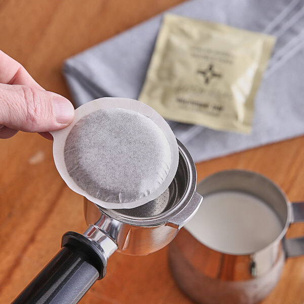 Caffe Verani Imported Italian Double-Shot Espresso Pods - 100/Box Main Image 2