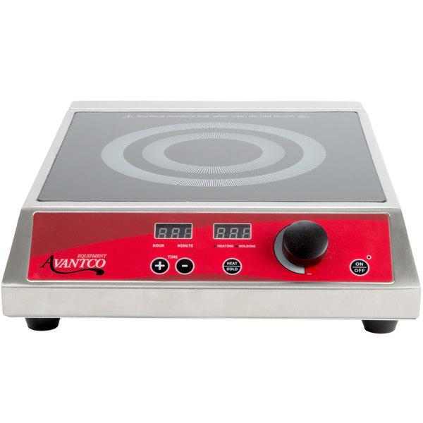 Avantco IC1800 Countertop Induction Range / Cooker - 120V, 1800W
