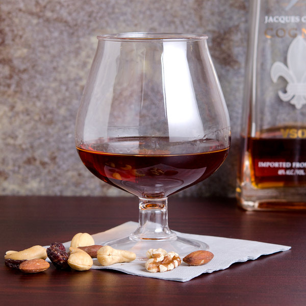 GET BRA-2 16 oz. Customizable Plastic Brandy Glass
