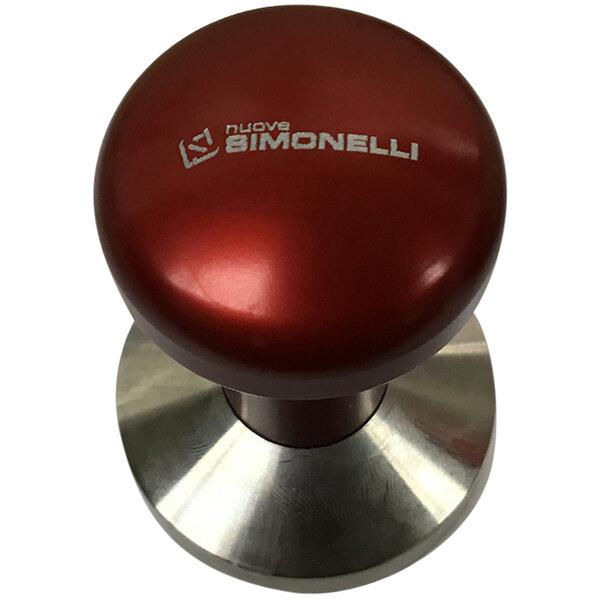 "Nuova Simonelli 98011003 2 1/4"" Stainless Steel Tamper Main Image 1"