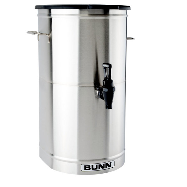BUNN TD4T Iced Tea Dispenser with Solid Lid