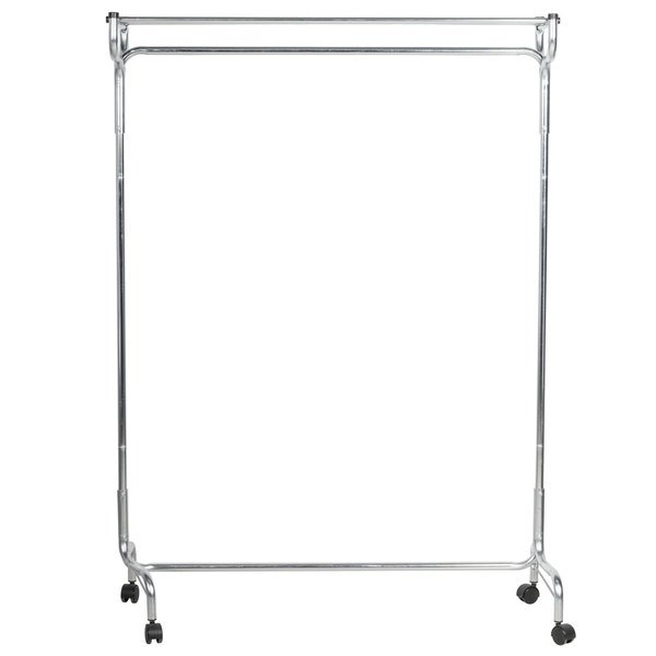 "CSL 1075-48 48"" Portable Valet Single Coat / Hat Rack with Casters"