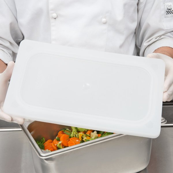 Vollrath 52432 Super Pan V 1/3 Size Flexible Steam Table / Hotel Pan Lid Main Image 3