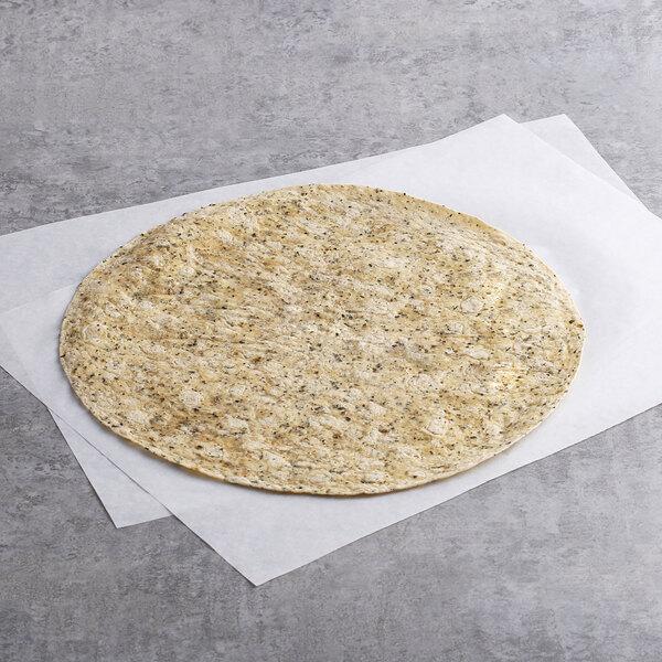 "Father Sam's Bakery 12-Count 12"" Jalapeno Cilantro Tortilla - 6/Case Main Image 1"