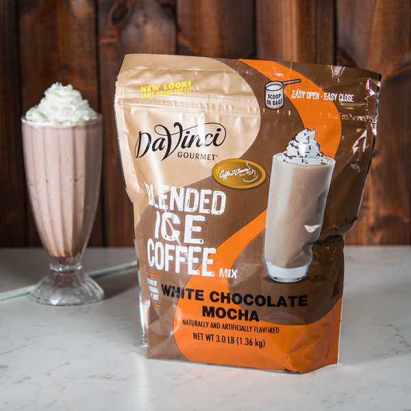 DaVinci Gourmet 3 lb. Ready to Use White Chocolate Mocha Mix